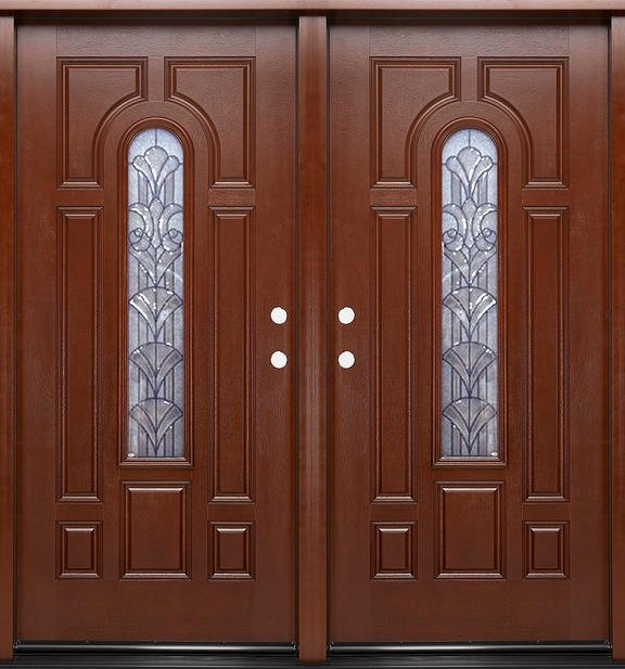 residential double front doors