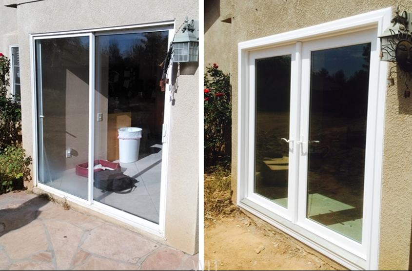 Bay view french doors by anlin riverside wit windows and for Three door french doors