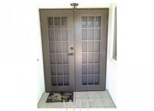 double entry security doors