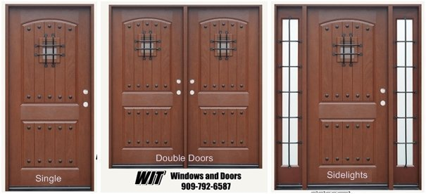 Fiberglass Front Entry Doors With Speakeasy Southern