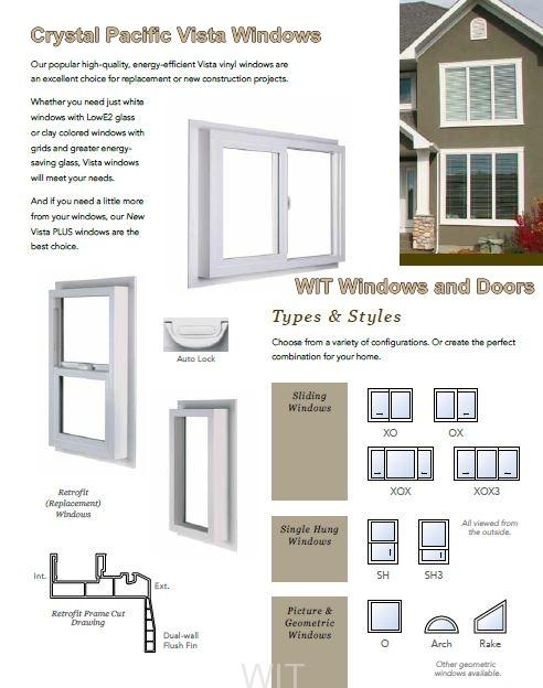 Crystal Pacific Windows Wit Windows And Doors