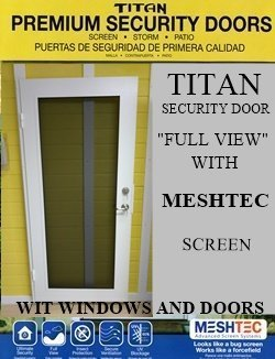 Meshtec Security Door
