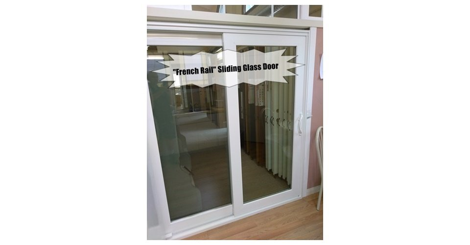 French Rail Style Sliding Glass Door Wit Windows And Doors