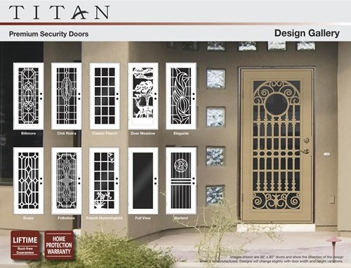 Titan security door